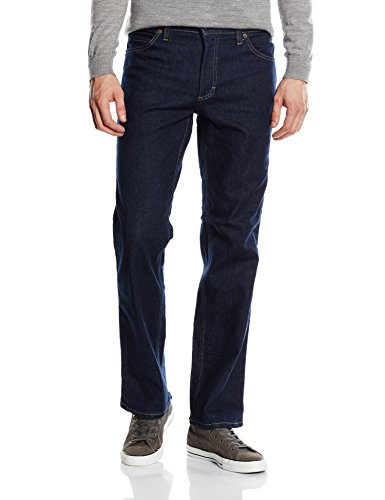 MUSTANG Herren Straight Leg Jeanshose Tramper, Gr. W31/L32, Blau (rinse washed 590) (Straight Washed Jeans Leg)