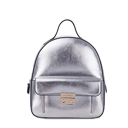 Emporio Armani Rucksack Metallic mit Fronttasche