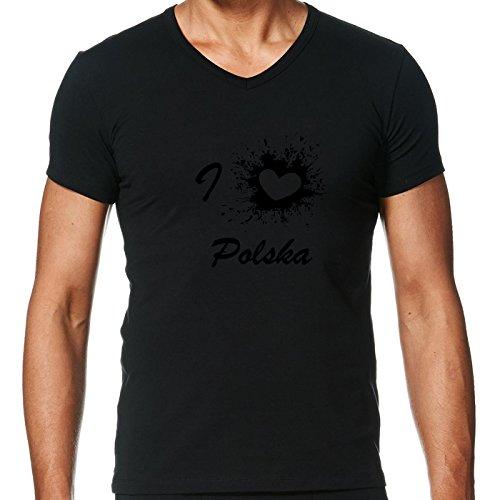 camiseta-negro-con-v-cuello-para-los-hombres-tamano-s-amo-polska-polonia-by-wonderfuldreampicture