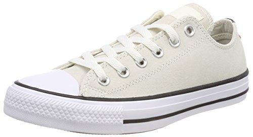 Converse Ctas Ox, Baskets Mixte Adulte Beige (egret/Black/White)