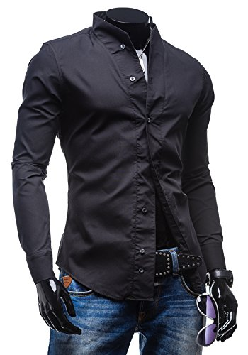 BOLF - Chemise casual – BOLF 5702 - Homme Noir