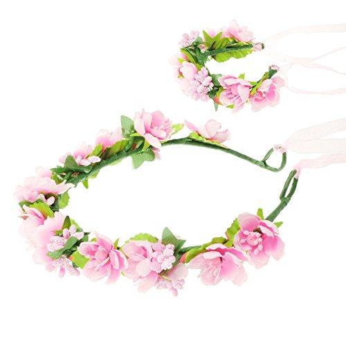 bridal-flower-wreath-headband-crown-garland-halo-headdress-with-floral-wrist-band-for-wedding-festiv