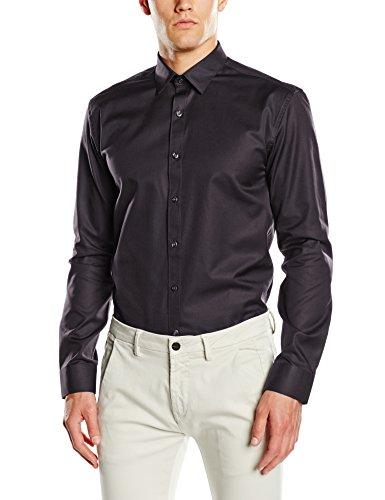 SELECTED HOMME Herren Slim Fit Business Hemd 16044020, Gr. Small, Schwarz Preisvergleich