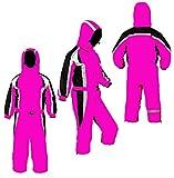 JUM Silver Rado Schneeoverall Schneeanzug Mädchen Skianzug Winteranzug Rosa/Pink (110)