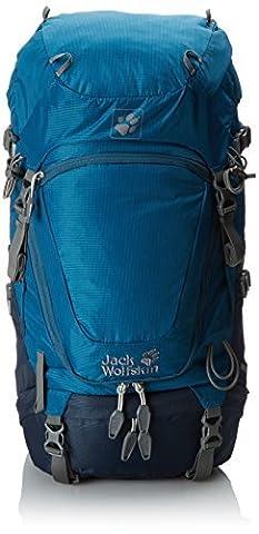 Jack Wolfskin Highland Trail Rucksack, Moroccan Blue, 42 L by Jack Wolfskin