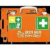Söhngen 0350101 Erste-Hilfe-Koffer - KINDERGARTEN, B 26 x H 17 x T 11 cm, orange