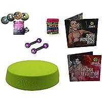 Mega XXL Zumba Stepper/Rizer Set 4er DVD + Armbänder, Toning 2.5 LB + Ernährungsplan + 2x2 CDs preisvergleich bei fajdalomcsillapitas.eu