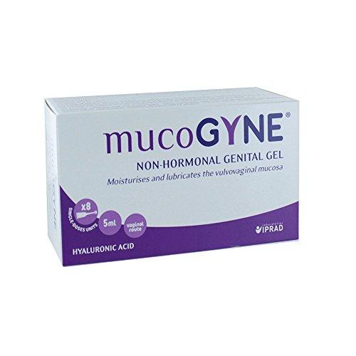 Mucogyne Non-Hormonal Genital Gel 8 Single-Doses -