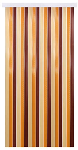 Bestlivings tenda a fili per porta, in pvc, plastica, beige - braun - dkl braun, 100 x 200 cm