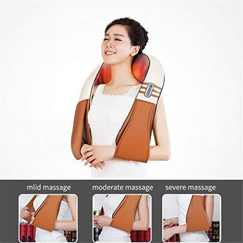 Pake u Art elektrischen Finger drücken Wieder Nacken - Schulter - massagegerät infrarot - heizung kneten Auto/Haushalt massagegerät,b
