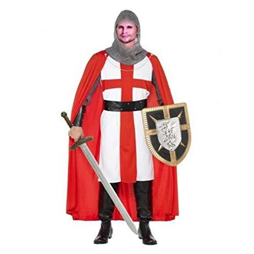 EraSpooky Herren Mittelalter Ritter Kostüm Faschingskostüme Cosplay Halloween Party Karneval Fastnacht Kleid für - Ausgefallene Kleider Kostüm
