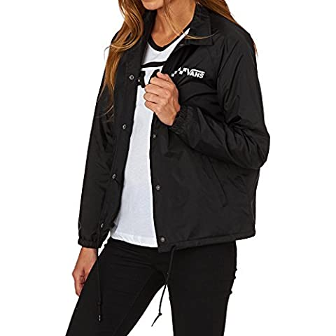Chaqueta Vans – Thanks Coach negro talla: M (Medium)