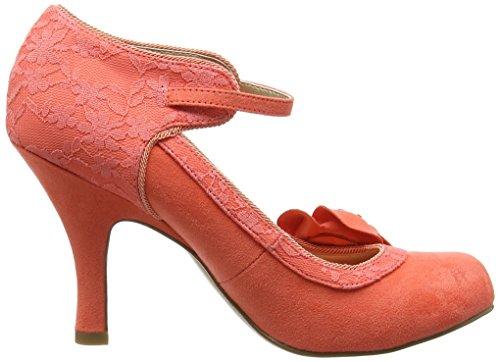 Ruby Shoo Anna, Escarpins femme Orange - Orange (Coral)