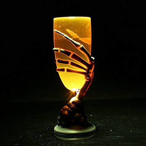 LNHYX Kreative Leuchtende Led Tasse Becher Schädel Klaue Skelett Party Bar Nachtlicht Ktv Prop Joyful Dekoration Licht