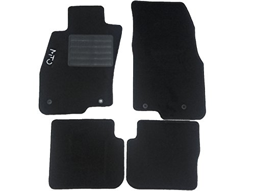 Tapis de sol de voiture sur mesure envelours aiguilleté, avec 4points de fixation