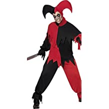 Disfraz Halloween adulto bufón Dark Horror *