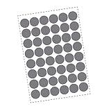 48 Kreis Wandtattoo Klebepunkte - Polka Dots -...