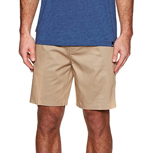 Hurley Herren M ICON Stretch Chino 19' Shorts, Khaki, 33 - Stretch-shorts Khaki