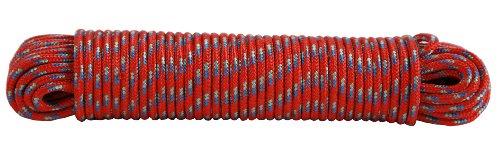 Koch 5170625 Diamant Tresse Corde polypropylène, 3/16 par 100 Pieds, couleurs assorties