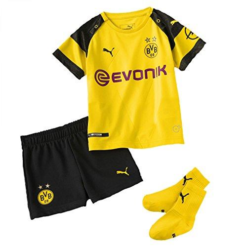 Puma Baby Borussia Dortmund Home Minikit BVB 2018/19 753315 Cyber Yellow 104