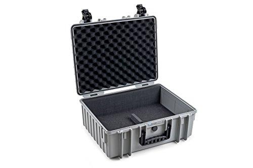 B&W outdoor.cases Typ 6000 für 2 Einsätze Typ 3000 (DJI, GoPro, Facheinteilung) - Das Original (Go Fpv Pro Goggles)