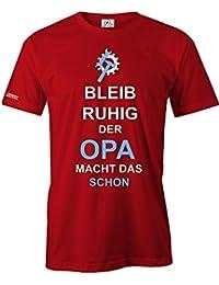 BLEIB RUHIG DER OPA MACHT DAS SCHON - HERREN - T-SHIRT