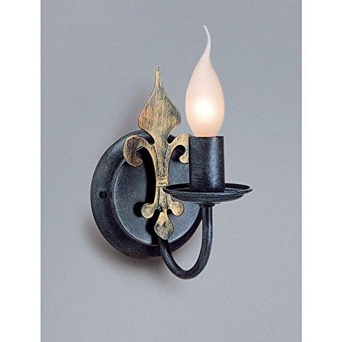 Wandfackel 1-flammig Castello -