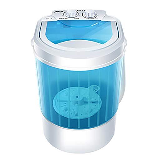 Mini Machine à Laver Haushalts-Einzelne Wannen-Waschmaschine-Halbautomatische Tragbare Kleine WäScherei-Maschine, Die Mit Der EntwäSserung 220V Waschende KapazitäT Von 1.2KG Trocknet