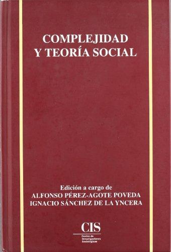 Portada del libro Complejidad y teoría social (Academia)