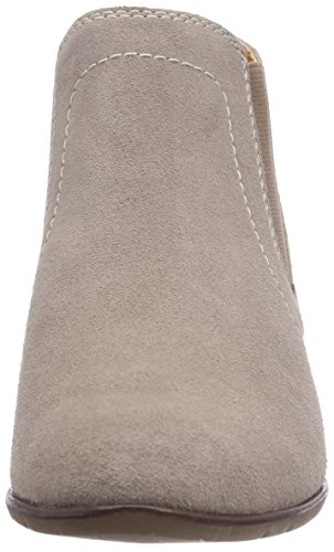Softline 25280 Damen Chelsea Boots Braun (Pepper / Suede 327)