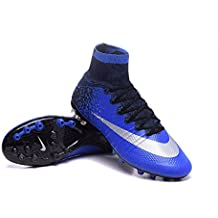 promo code 4d610 c299b Yurmery Chaussures pour Homme Mercurial Superfly CR7 AG Bottes de Football
