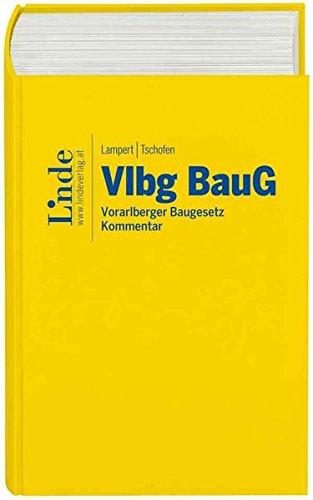 Vlbg BauG: Vorarlberger Baugesetz