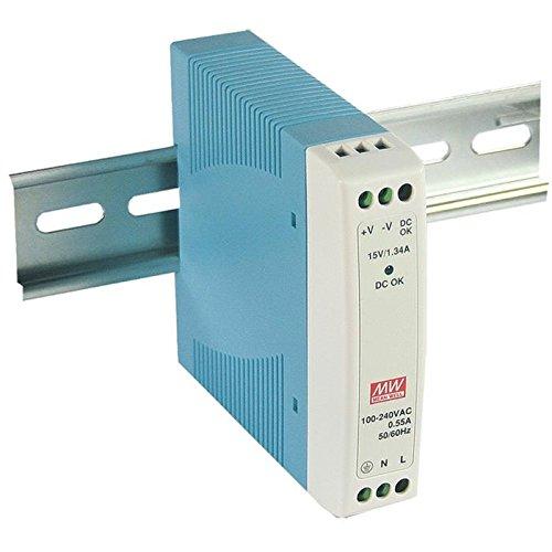 Preisvergleich Produktbild Hutschienen Netzteil 10W 12V 0, 84A ; MeanWell,  MDR-10-12 ; Hutschienennetzteil