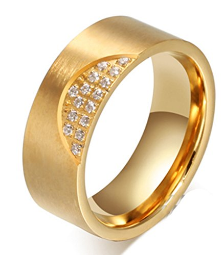 lated ring jewelry for engagement party (SIZE : 8) ()