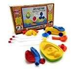 #10: StepsToDo Air Push Toys . 3 in 1 Set of Balloon Toys. Balloon Helicopter, Balloon Racer, Balloon Boat.