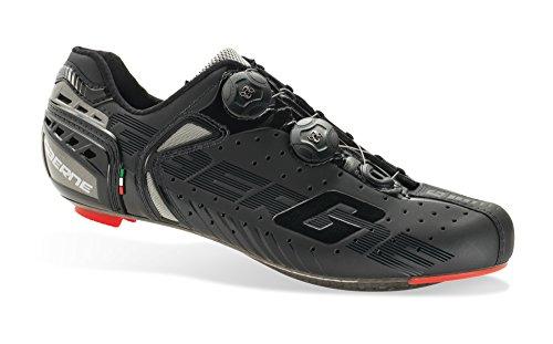 Soul Rebel Cyclisme - GA Gaerne–Zapatos de Ciclismo–3276–001G-Chrono C Black, Negro (Negro), 48