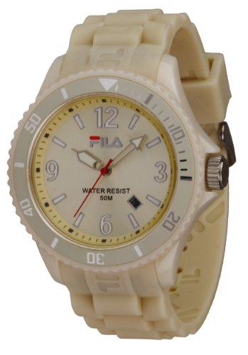 Fila FA-1023-38 - Reloj con correa de acero para hombre, color beige/gris