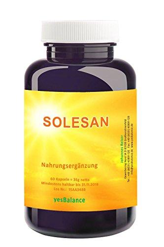 SOLESAN - yesBalance - 60 Kapseln - mit OPC Traubenkern Extrakt, Vitaminen C + E und Pro-Vitamin A