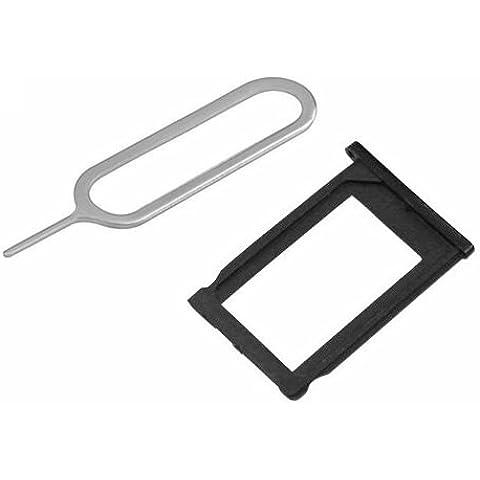 BisLinks® Sim Card Holder vassoio nero + Slot per espulsione