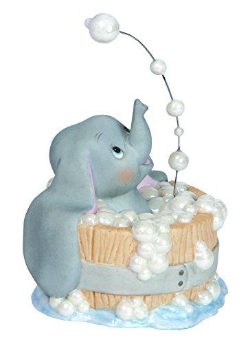 Precious Moments, Disney Showcase Collection, Bubbling über mit Glück, Bisque Porzellan Figur, 143706