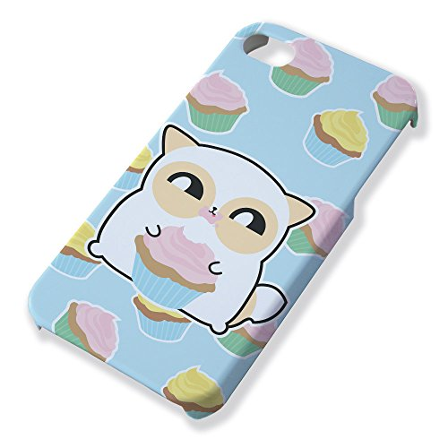 Carcasa para iPhone 4 y 4S Fluffy Chamalow: pouny pouny Multi Cupcake pastel Chibi y Kawaii – Chamalow Shop