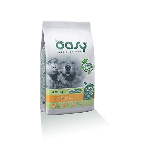 OASY One protein secco cane al maiale 12kg Alimenti secchi monoproteici per cani