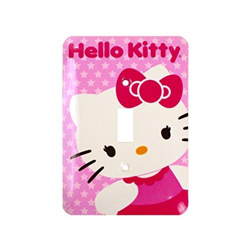 Hello Kitty Decorative Light Switch Wall Plate Cover (Light Switch Wall Plate)