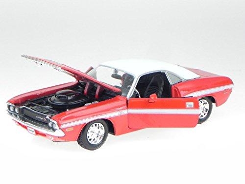dodge-challenger-r-t-coupe-1970-rot-modellauto-maisto-124