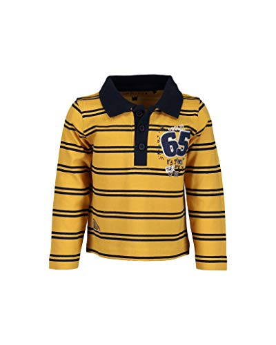 Blue Seven Baby-Jungen Vd-983006 X Poloshirt, Gelb (Honig 181), 86 -