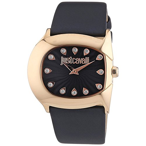 Just Cavalli Ladies Watch Analog Leather Quartz R7251525503