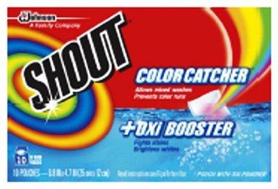 Johnson & Johnson Shout Color Catcher -
