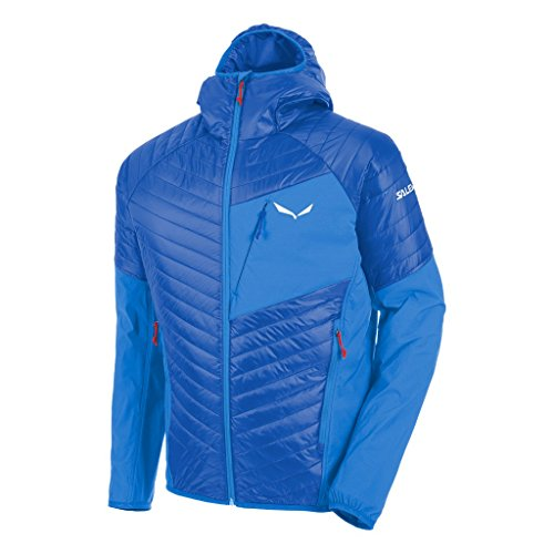 Salewa, ortles hybrid 2 prl m jkt, giacca, uomo, blu (nautical blue/3420), 46/s