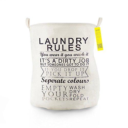 JAYLONG Großer Waschkorb 2 Pcs, Zusammenklappbare Stoff Wäsche, Faltbare Kleidertasche, Klapp Waschbär (6 Stile) Für Den Schul Schlaf Mit Zu Hause,B