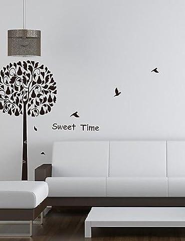 Botanique Arbre Oiseaux Sweet Time